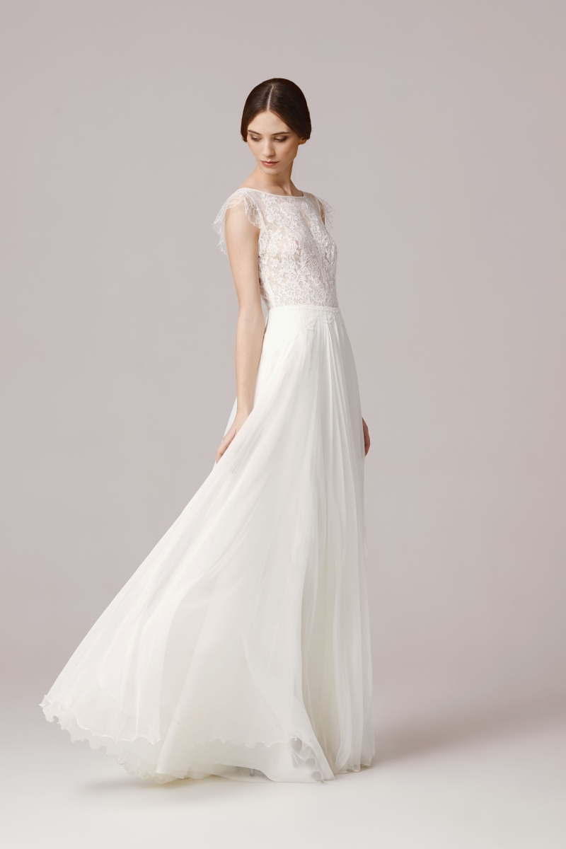 Chloe suknie lubne anna kara for Brand name wedding dresses